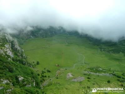 Descenso Sella - Lagos de Covadonga; viajes puente del pilar; senderismo y montaña;gente vip
